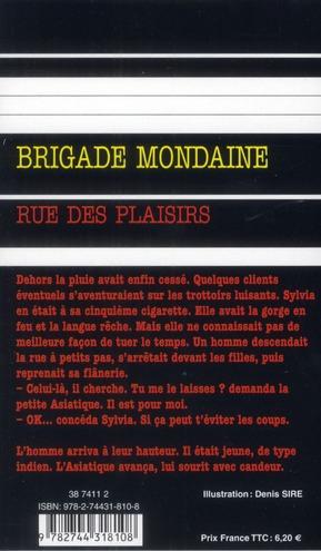 Brigade mondaine t.336 ; rue des plaisirs