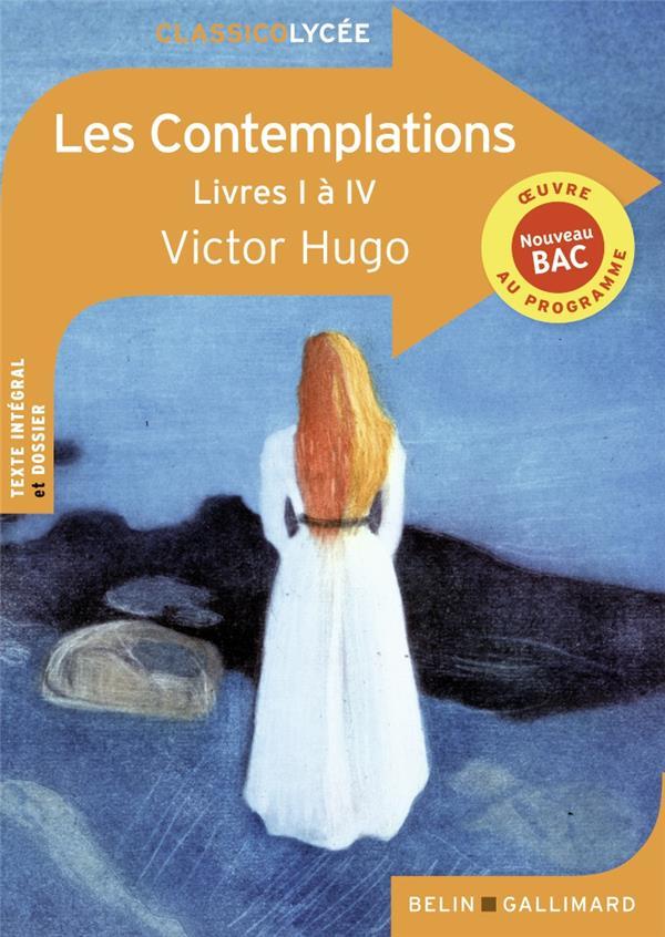 Les contemplations ; livres I à IV