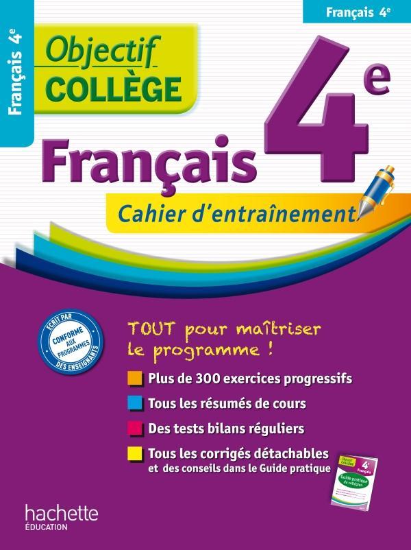 OBJECTIF COLLEGE ; français ; 4ème