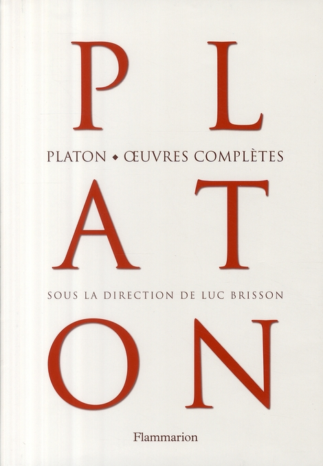 Platon ; oeuvres complètes
