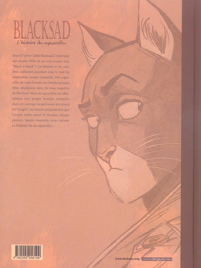 Blacksad Hors-Série t.1 ; l'histoire des aquarelles t.1