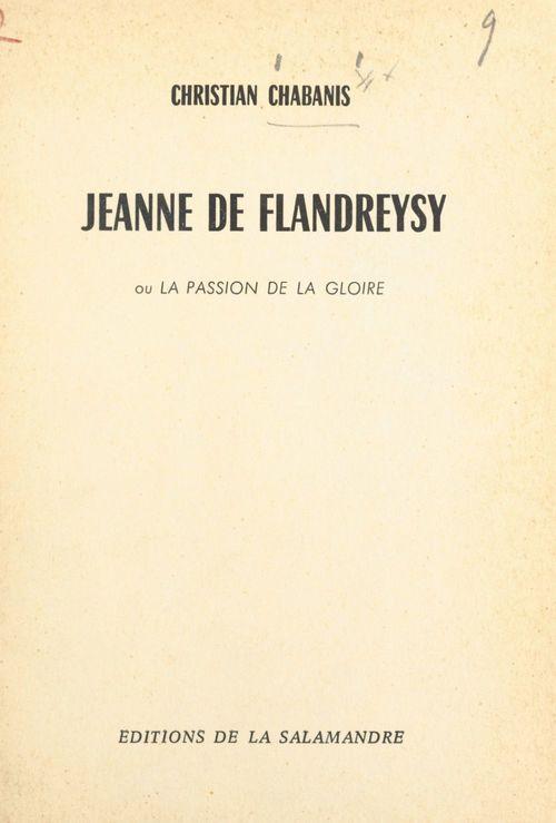 Jeanne de Flandreysy