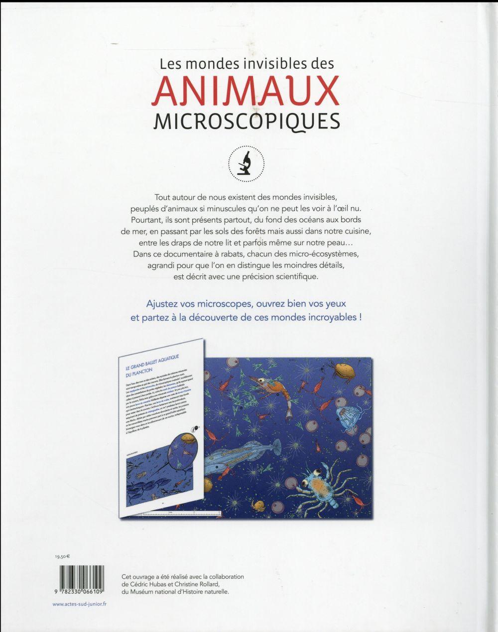 Les mondes invisibles des animaux microscopiques