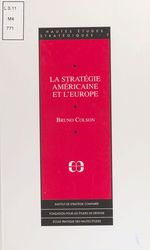 Vente EBooks : La stratégie américaine et l'Europe  - Bruno Colson