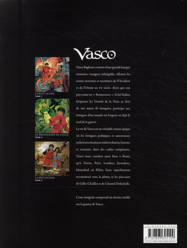 Vasco ; Intégrale vol.1 ; t.1 à t.3