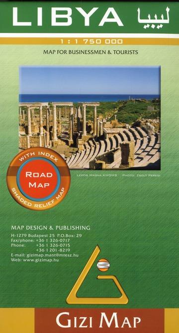 Libya  1/1m75 (road map)