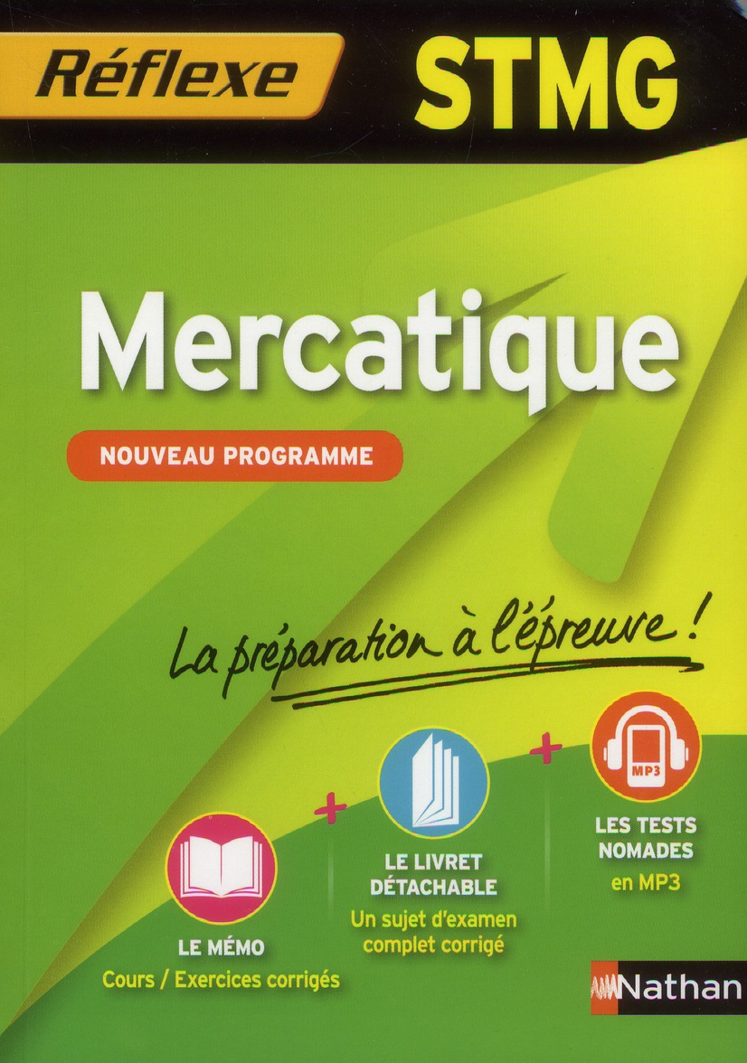 Memos Reflexes T.91; Mercatique ; Stmg
