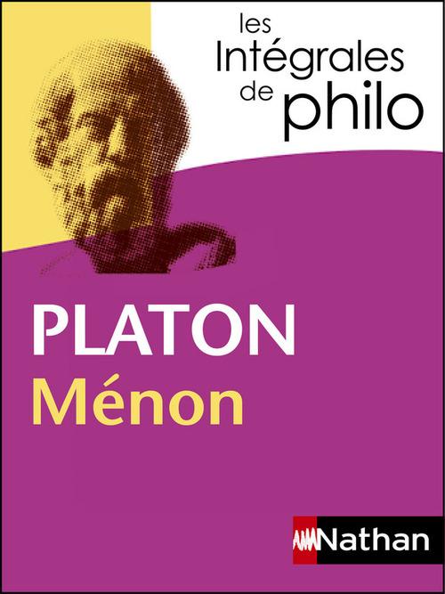 Ménon, de Platon