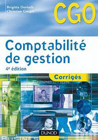 Comptabilite De Gestion Corriges (5e Edition)
