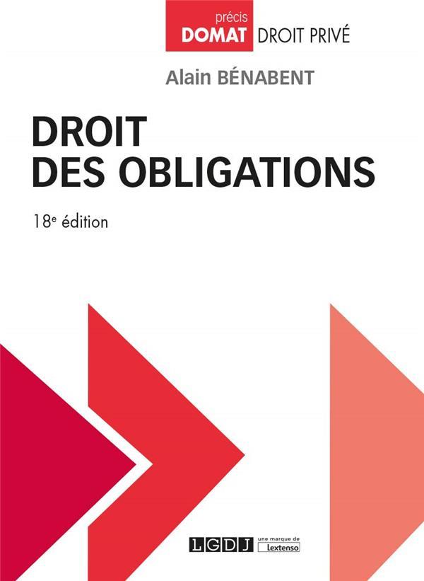 Droit des obligations (18e édition)