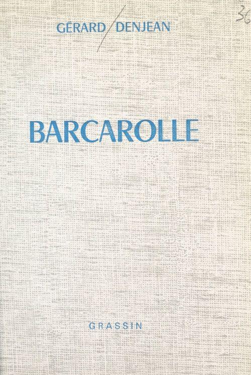 Barcarolle