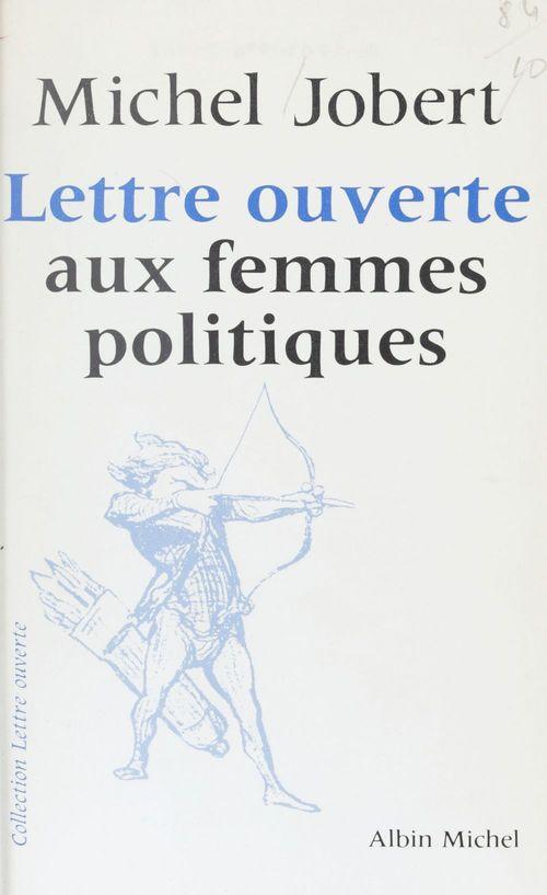 Lettre ouverte aux femmes politiques