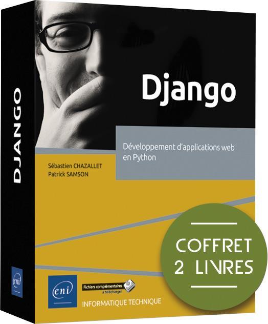 Django ; coffret de 2 livres : développement d'applications web en Python