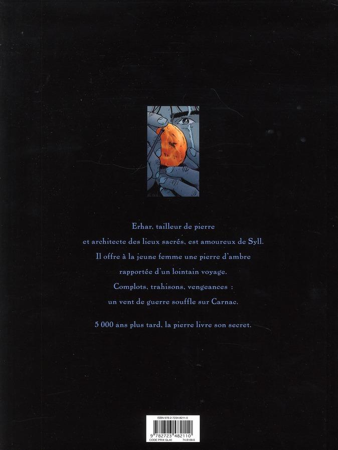 Carnac ; coeur de pierre
