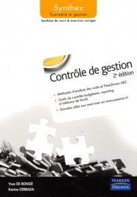 SYNTHEX ; contrôle de gestion (2e édition)