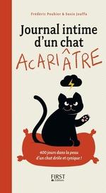 Vente EBooks : Journal intime d'un chat acariâtre  - Frédéric Pouhier - Susie Jouffa - François Jouffa