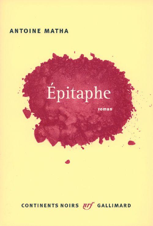 épitaphe