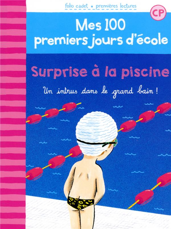 Surprise à la piscine ; un intrus dans le grand bain !