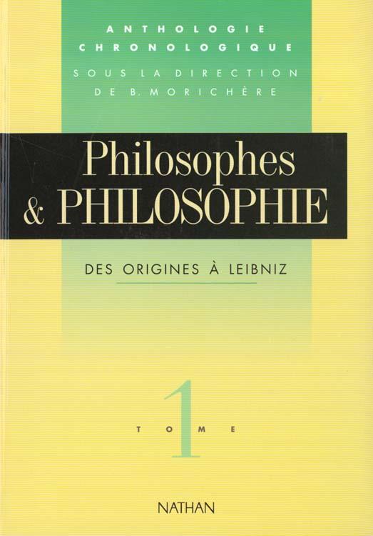 Philosophe Philosophie T01 Origines Leibniz