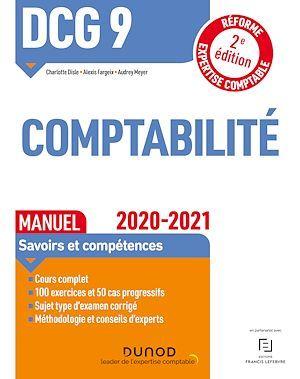 DCG 9 ; comptabilité ; manuel ; savoirs et compétences (édition 2020/2021)