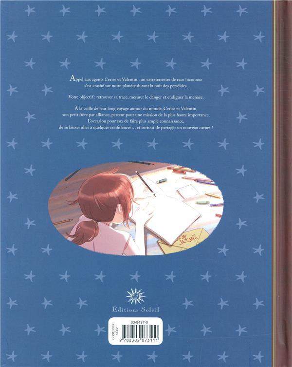 Les carnets de Cerise HORS-SERIE ; les carnets de Cerise et Valentin