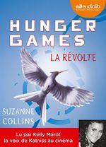Vente AudioBook : Hunger Games : La Révolte - Tome 3  - Suzanne Collins