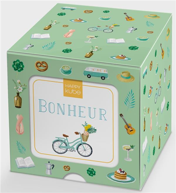Happy kube ; bonheur