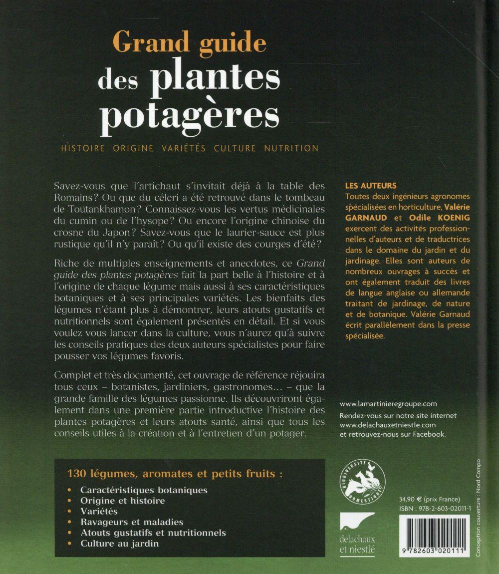 Le grand guide des plantes potagères