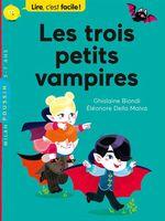 Vente EBooks : Les trois petits vampires  - Ghislaine Biondi