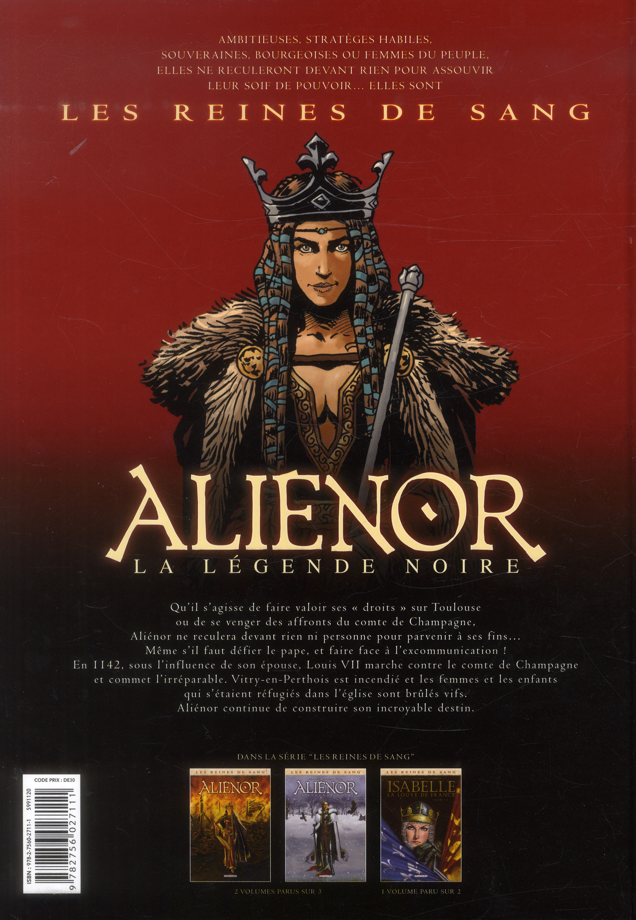Les reines de sang - Aliénor, la légende noire T.2