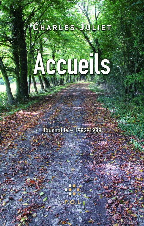 Accueils - Journal IV (1982-1988)