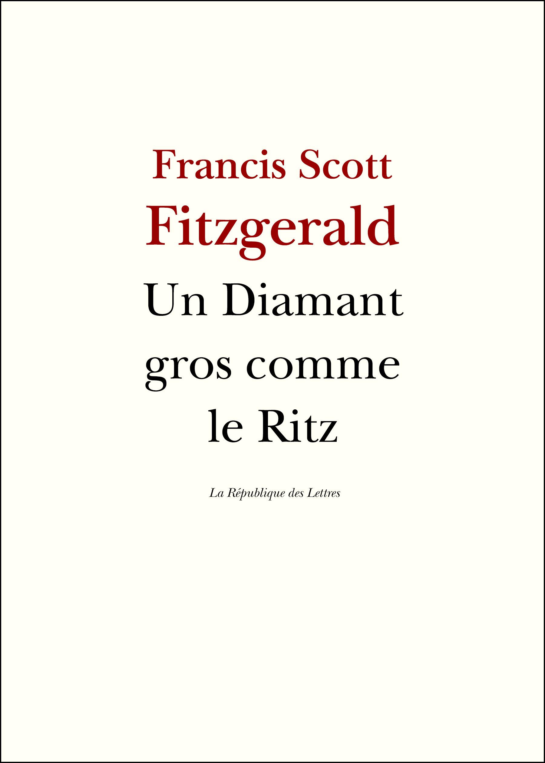 Un diamant gros comme le Ritz