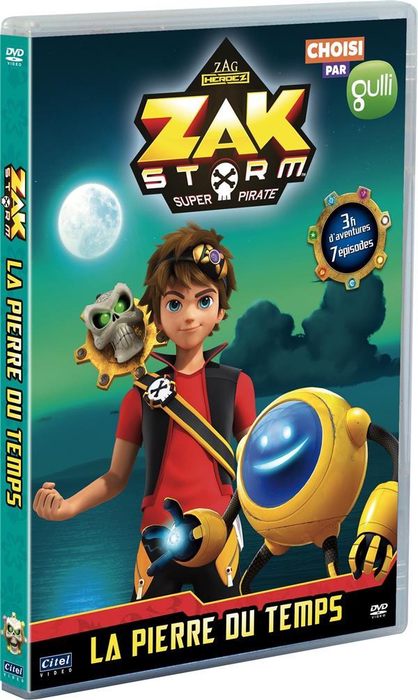 Zak Storm super pirate, vol. 5 : la pierre du temps, 7 épisodes