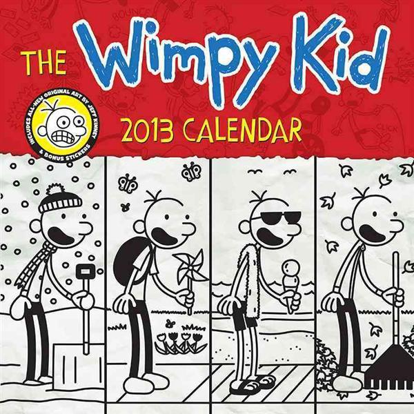 Wimpy Kid 2013 Calendar