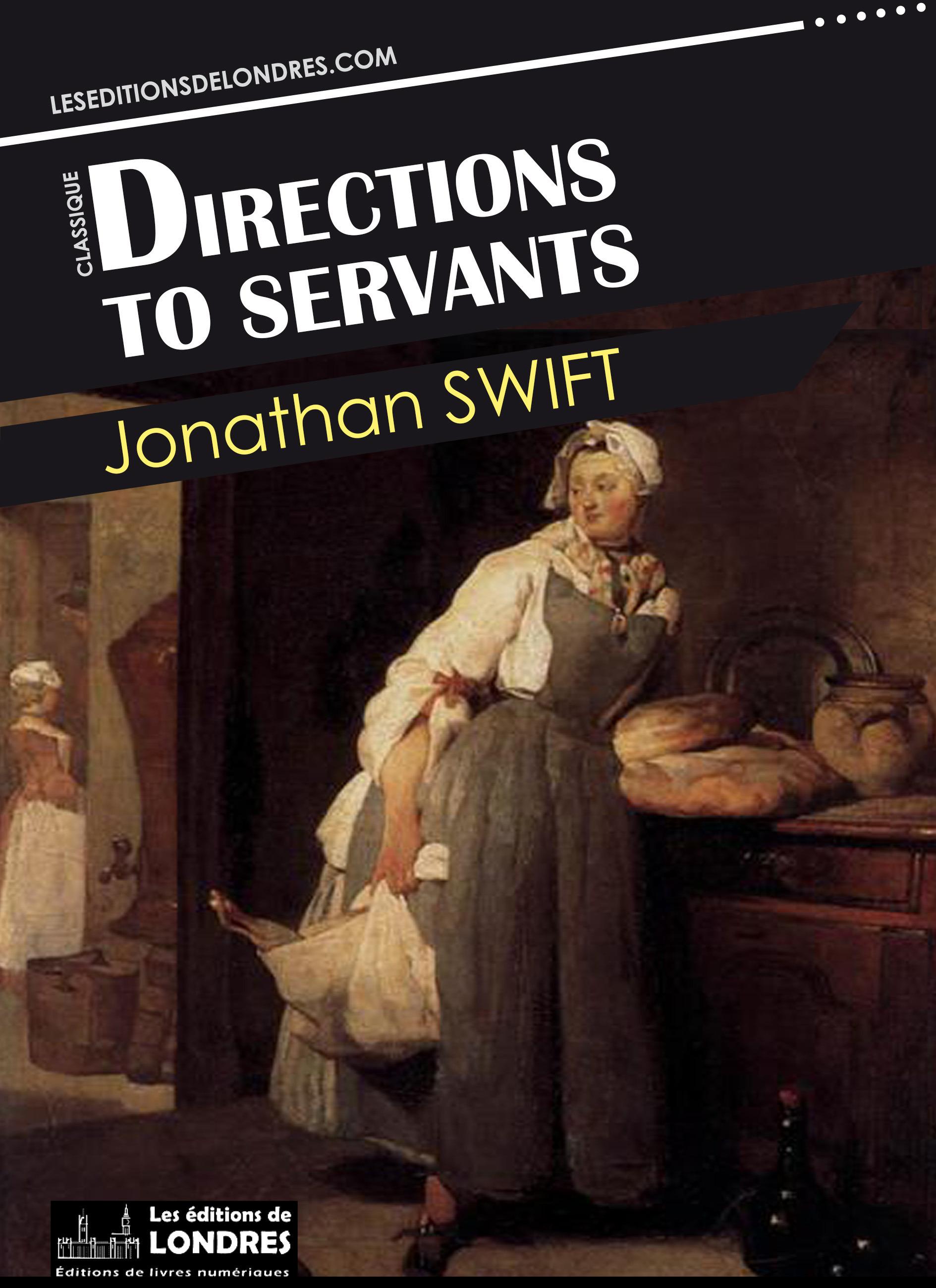 Vente EBooks : Directions to servants  - Jonathan Swift