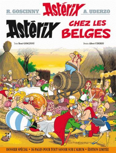 Astérix T.24 ; Astérix chez les Belges