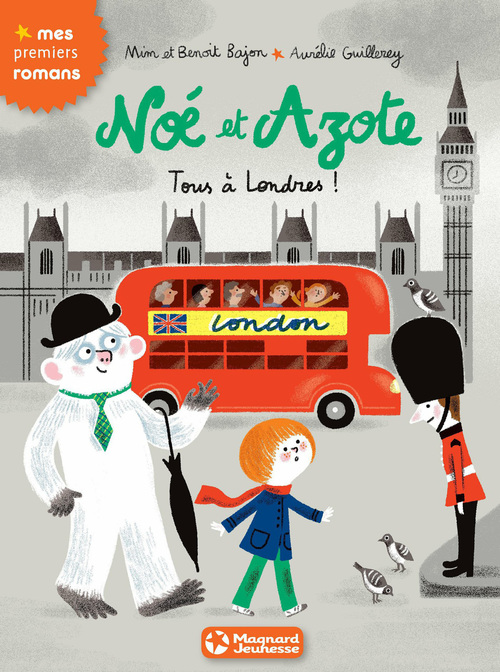 Noé et Azote T.10 ; tous à Londres !