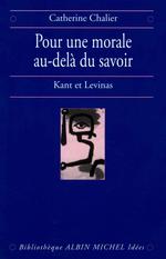 Vente Livre Numérique : Pour une morale au-delà du savoir  - Catherine Chalier
