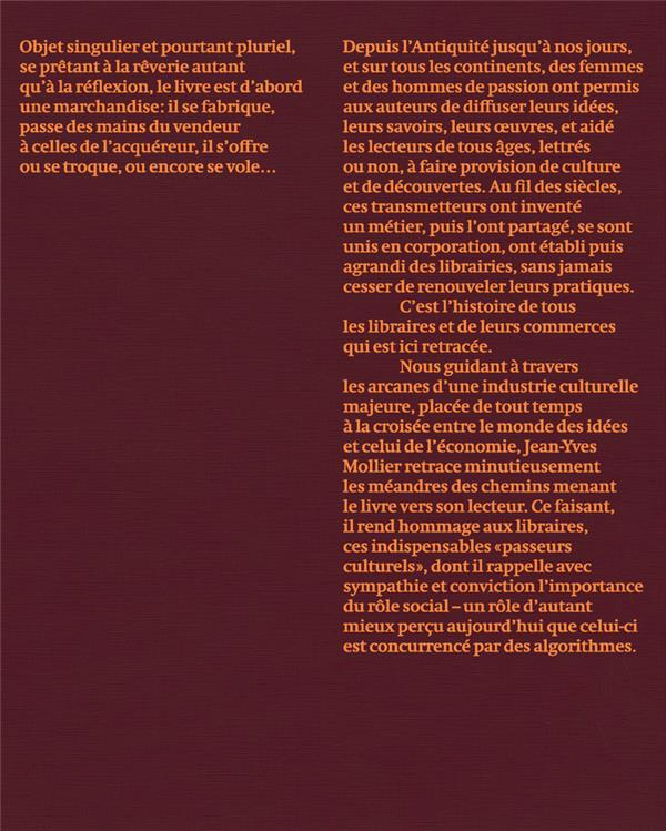 Histoire des libraires et de la librairie de l'Antiquité jusqu'à nos jours