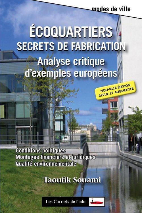 écoquartiers, secrets de fabrication ; analyse critique d'exemples en Europe