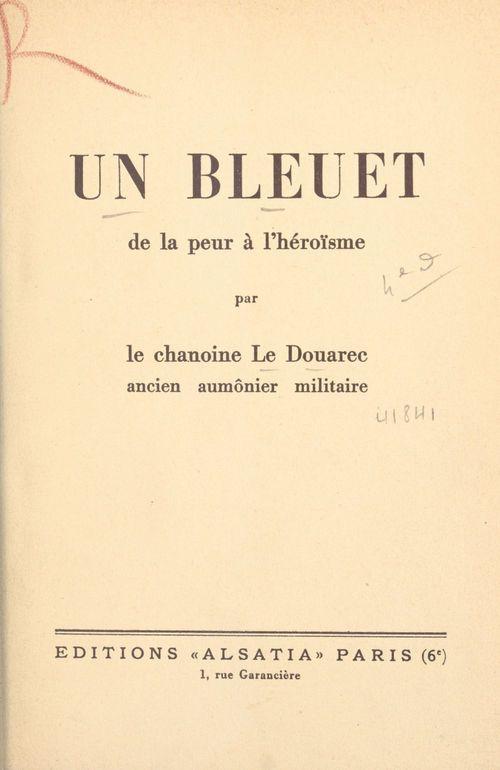 Un bleuet