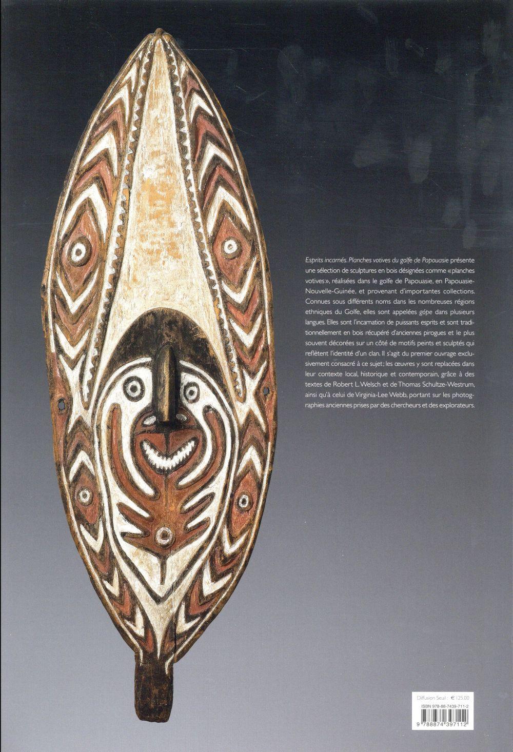 esprits incarnés ; les planches votives du golfe de Papouasie