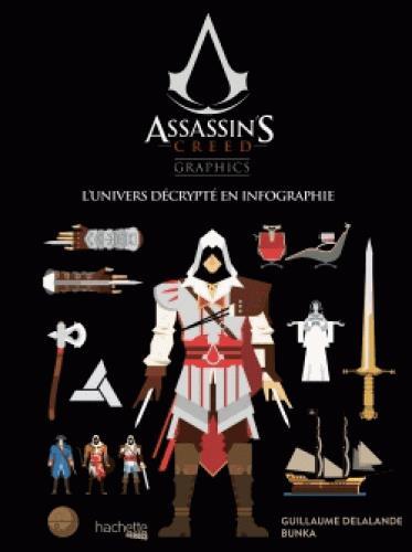 Assassin's Creed ; graphics ; univers décrypté en infographie