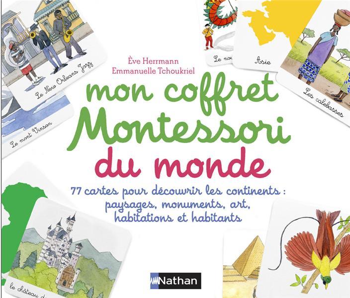 Mon Coffret Montessori Pour Decouvrir Le Monde