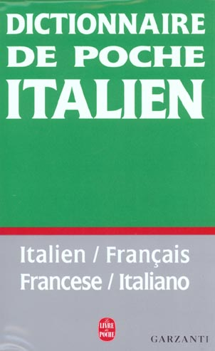 Dictionnaire francais-italien/italien-francais