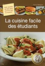 Vente Livre Numérique : La cuisine facile des étudiants  - Fanny Matagne