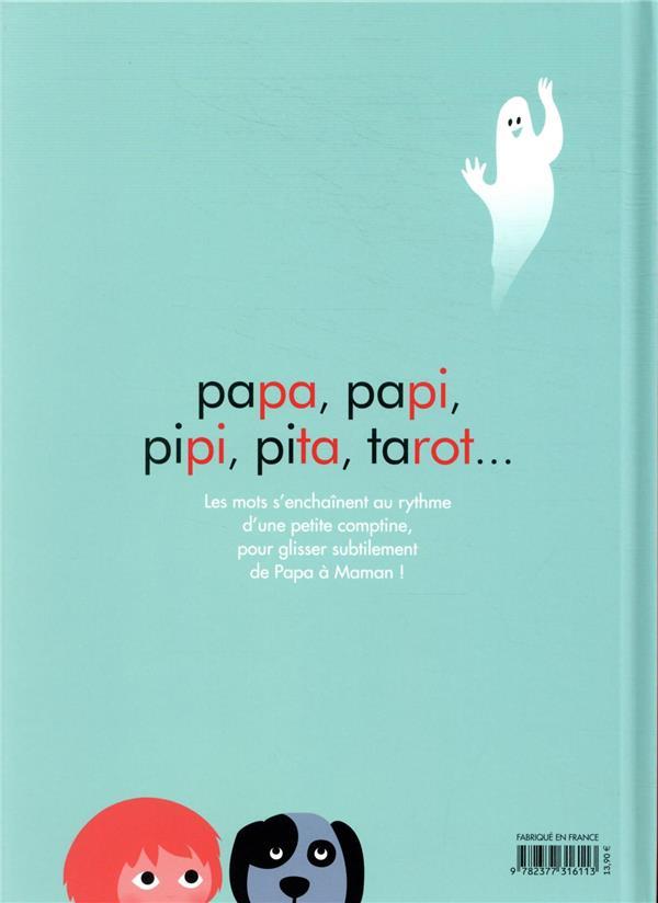 De papa à maman : un livre pour s'amuser avec les syllabes !