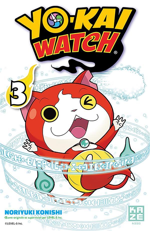 YO-KAI WATCH T03 Konishi Noriyuki