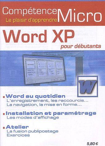 Word XP pour débutants