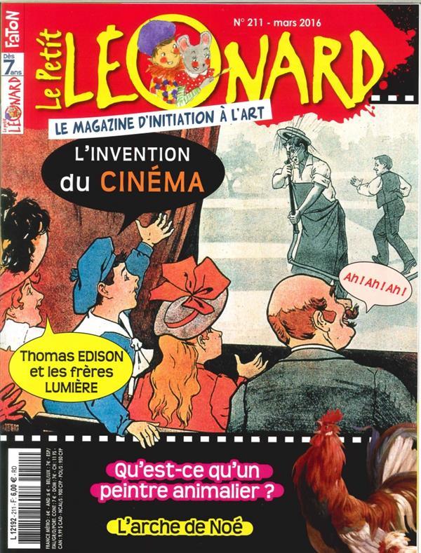 Le petit leonard t.211 ; l'invention du cinema